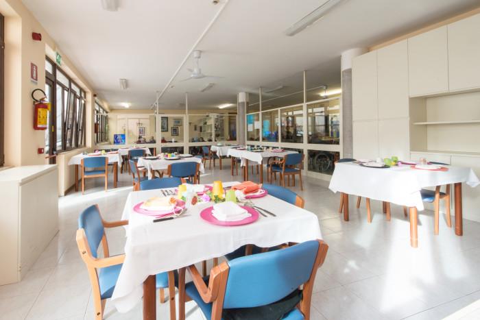 ristoro residenza anziani